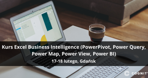 Kurs Excel Business Intelligence (PowerPivot, Power Query, Power Map, Power View, Power BI) - Gdańsk