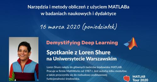 Spotkanie z Loren Shure na Uniwersytecie Warszawskim   MATLAB & Simulink