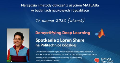 Spotkanie z Loren Shure na Politechnice Łódzkiej   MATLAB & Simulink