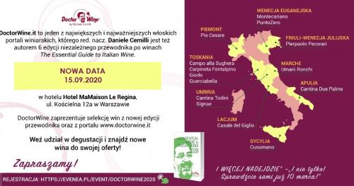 DoctorWine Degustacja włoskich win konsumenci