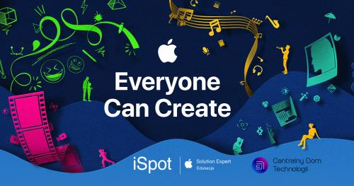 Każdy może tworzyć - kreatywna lekcja z iPadem.