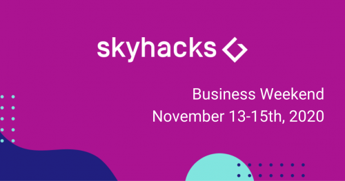 #3 skyhacks ▮ Artificial Intelligence Hackathon ▮Business Weekend with Plug and Play Tech Center