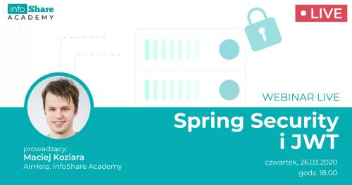 Webinar: Spring Security i JWT
