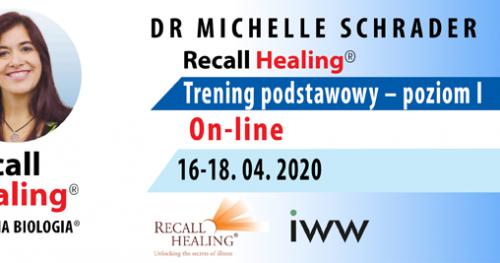 Totalna Biologia / Recall Healing - kurs podstawowy (on-line) - dr Michelle Schrader / USA