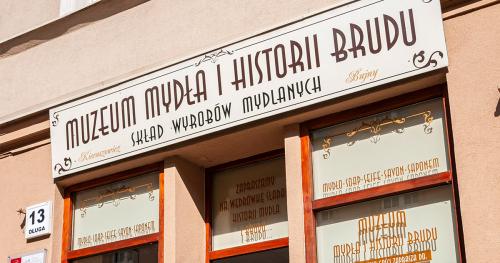 Bilet przyszłości do Muzeum Mydła i Historii Brudu