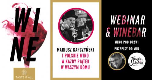 WINE WEBINAR polskie wino na stół!