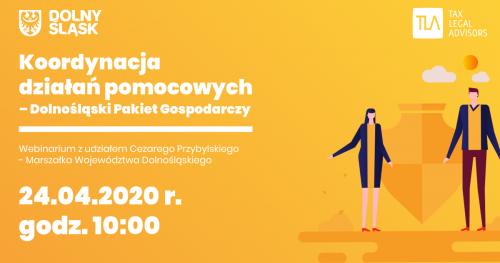 Webinar - Koordynacja działań pomocowych - Dolnośląski Pakiet Gospodarczy