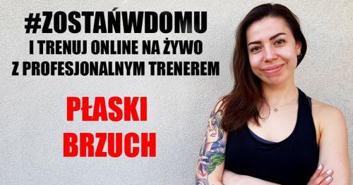 Trening na żywo - PŁASKI BRZUCH  z Beatą 29.04