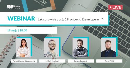 Webinar: Jak sprawnie zostać Front-end Developerem?