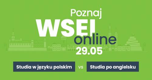 LIVE: Poznaj WSEI - Studia po polsku vs studia po angielsku