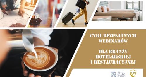 """Webinar VIRUS - FREE - """"Jak redukować ryzyko COVID 19 w hotelach i restauracjach: dobór sprzętu"""" - 04.06. (3/4)"""