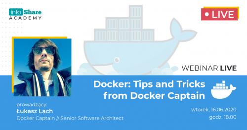 Docker: Tips and Tricks from Docker Captain (webinar)