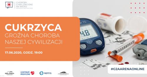 CUKRZYCA / KONFERENCJA MEDYCZNA ONLINE/ 17 CZERWCA godz. 19:00