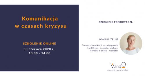 Szkolenie online: Komunikacja w czasach kryzysu