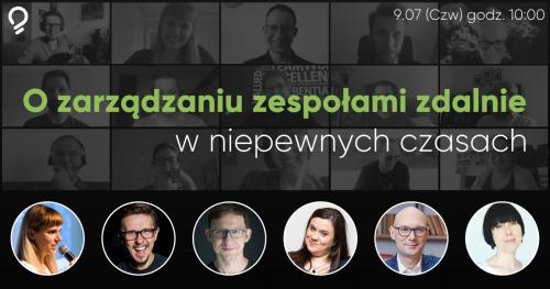 Meetup online. Przywództwo w plemionach zdalnych.