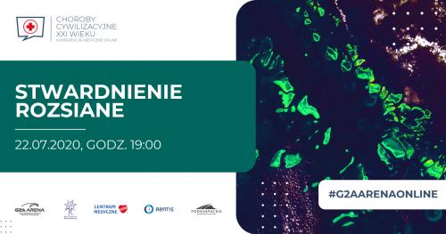 STWARDNIENIE ROZSIANE / KONFERENCJA MEDYCZNA ONLINE/ 22 LIPCA godz. 19:00