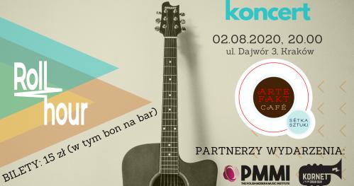 Koncert zespołu RollHour w Krakowie