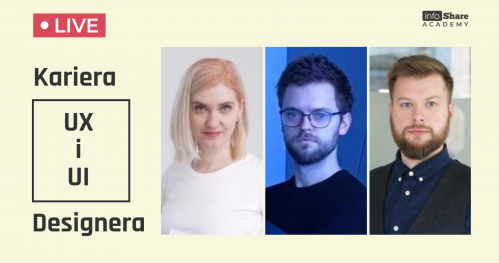 Webinar: Kariera UX i UI Designera