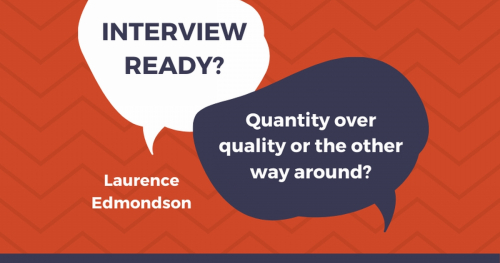 Interview Ready? How to prepare for an online job interview - live with Laurence Edmondson