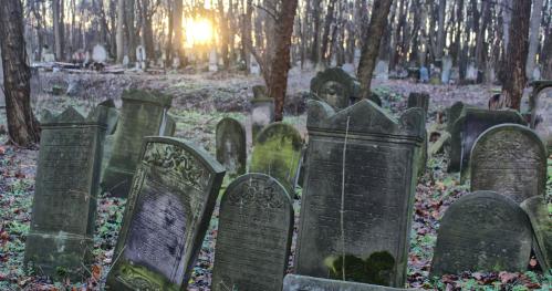 """16.09.2020 (środa) - 12:00  """"Moje miasto murem podzielone... - spacer po Cmentarzu Żydowskim""""  [Spacer]"""