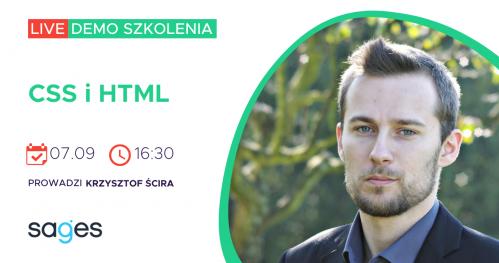 CSS i HTML [LIVE DEMO]