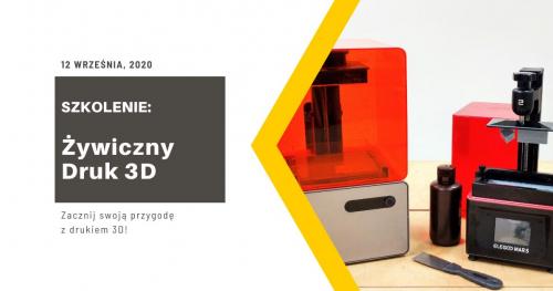 Szkolenie z żywicznego druku 3D.
