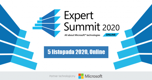 EXPERT SUMMIT 2020 - All about Microsoft technologies