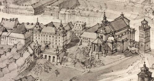 03.10.2020 - Istniejące i nieistniejące pałace Krakowskiego Przedmieścia. [Spacer]