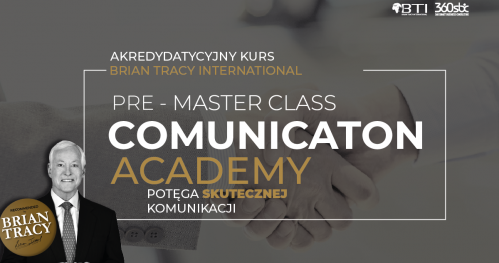 PRE-MASTER CLASS POTĘGA SKUTECZNEJ KOMUNIKACJI - GDAŃSK