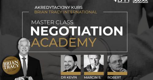 MASTER CLASS NEGOTIATIONS ACADEMY - WARSZAWA