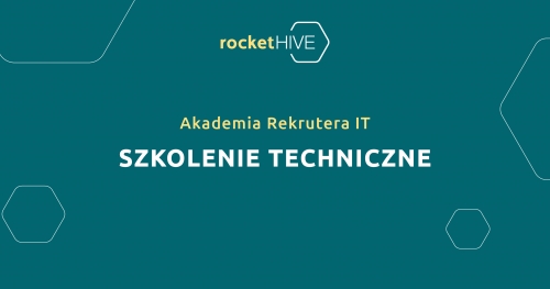Akademia Rekrutera IT   Szkolenie Techniczne   100% online   05.11.2020