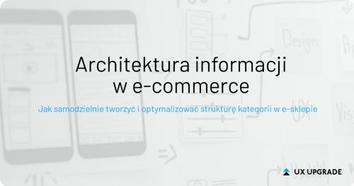 Architektura informacji w e-commerce