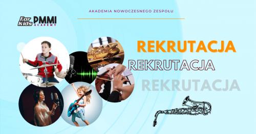 Rekrutacja - 2020 Modern Band for Kids, oddział w Krakowie
