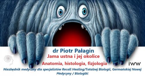 Anatomia, histologia, fizjologia - niezbędnik medyczny dla specjalistów Totalnej Biologii/Recall Healing, Germańskiej Nowej Medycyny, Biologiki, dr Piotr Pałagin