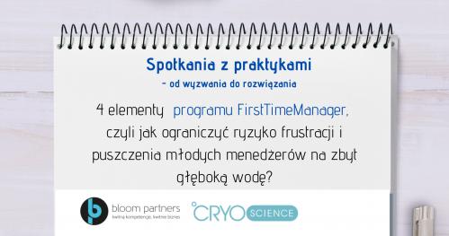 Konferencja dla HR on line: 4 kluczowe elementy programu First Time Manager