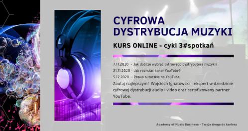 Praktyczne warsztaty: Globalna dystrybucja cyfrowa muzyki. Spotkanie#1- kurs online + konsultacje.