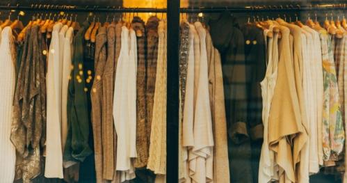 Kolekcja jesień/zima - wymienialnia ubrań