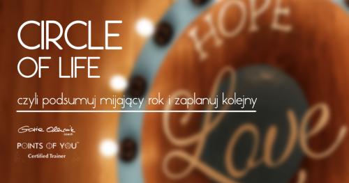Circle of Life, czyli podsumuj mijający rok i zaplanuj kolejny - online