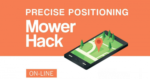 Zostań startupowcem - Precise Positioning Mower Hackathon