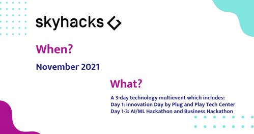 4 skyhacks ▮ Artificial Intelligence Hackathon ▮Business Weekend 2021