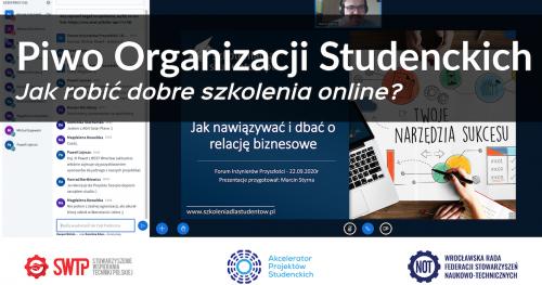 👩🏻💻🍻👨💻 Piwo Organizacji Studenckich [online] grudzień 2020