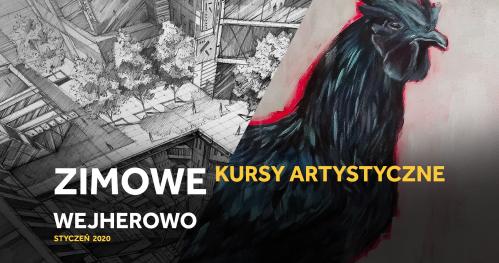 Zimowy kurs rysunku i malarstwa w Wejherowie dla 11-14 latków!