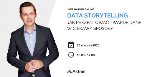 Data Storytelling - Jak prezentować twarde dane w ciekawy sposób?