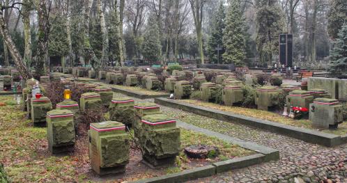 18.04.2021 - 12:00 - Cmentarz Wojskowy na Powązkach [Spacer]