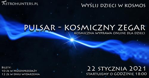 Wyślij dzieci w Kosmos 2 - Pulsar - kosmiczny zegar