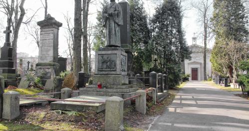 27.03.2021 (11:00) - Nisi Religio - Umbra et Nihil - spacer po Cmentarzu Ewangelicko - Augsburskim