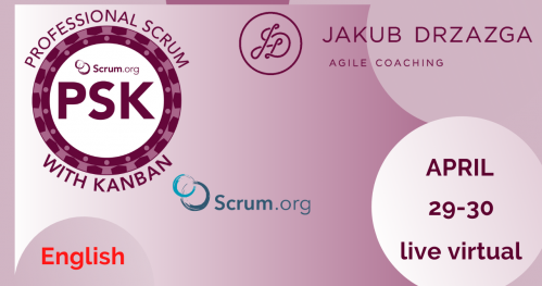 on-line: Professional Scrum with Kanban - English