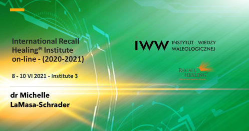 International Recall Healing® Institute on-line - Institute 3  (2020-2021)