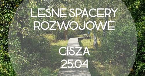 Leśny Spacer Rozwojowy w Mazowieckim Parku Krajobrazowym - Cisza