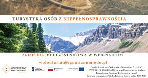 Webinar: Turystyka osób z niepełnosprawnością cz. II: Korony Europy